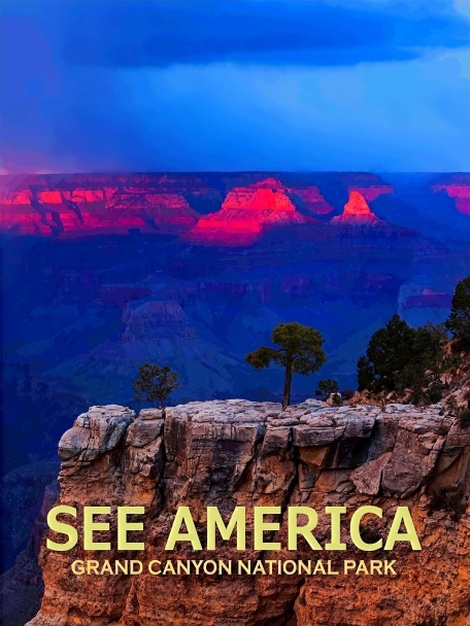 SEE AMERICA: GRAND CANYON NATIONAL PARK